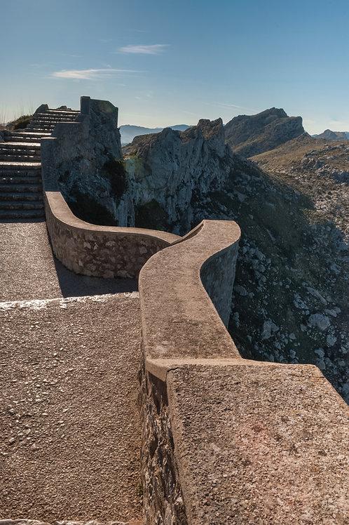 Mountain Side Walkway