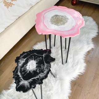 Geode Table Set