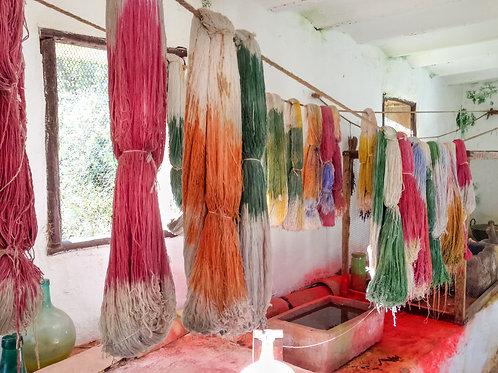 Coloring Yarn