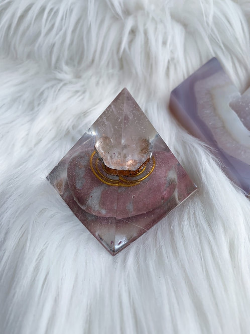 Quartz Orgonite