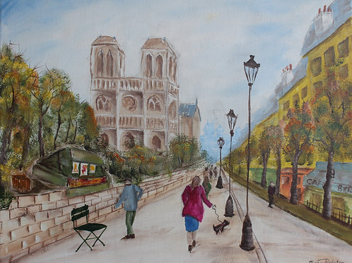 """WALK IN PARIS"" ORIGINAL"