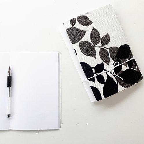 Set of 2-Handmade Fabric Soft Cover Notebooks