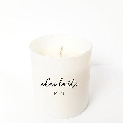 Chai Latte 8 oz Candle