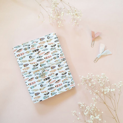 """""""Feathers"""" Mini B6 Planner Cover"""
