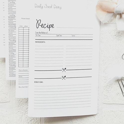Little Planner | Recipe Notebook