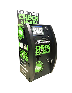 check cashing solution + check cashing system