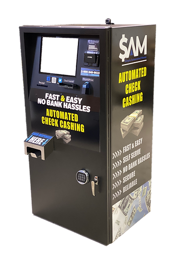 check cashing system retail