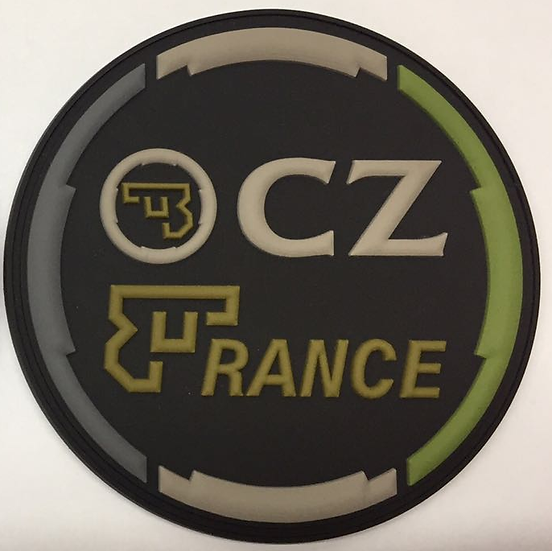 PATCH PVC CZ France basse visi
