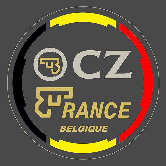 Stickers CZ France Belgique