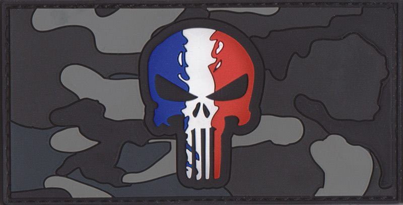 PATCH Punisher camouflage