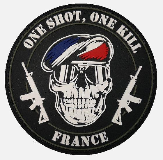 Patch PVC One Shot France