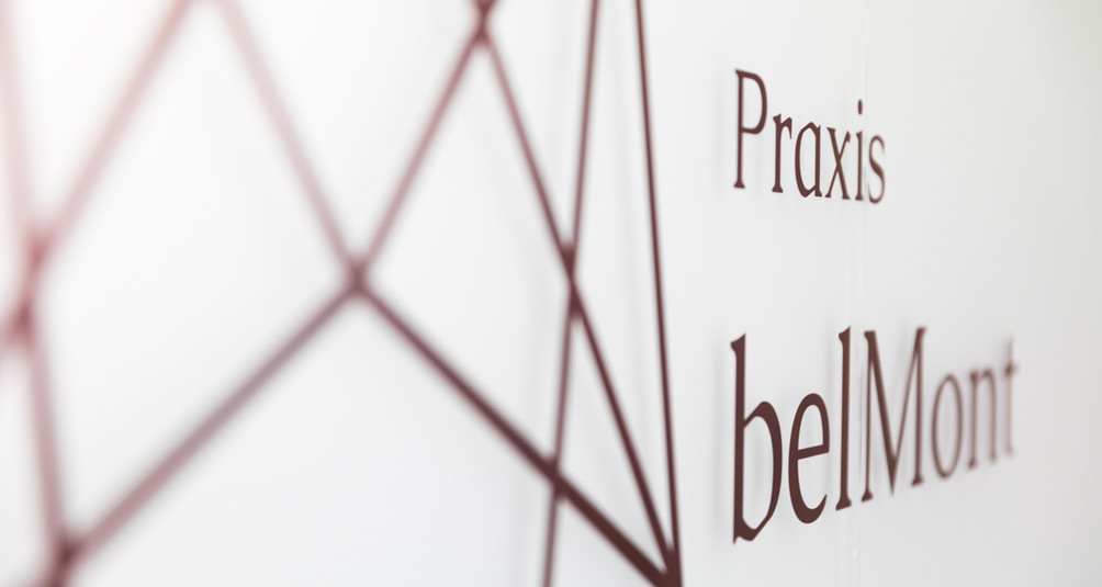 Unser Logo Praxis belMont