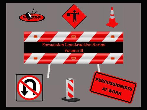 Percussion Construction Volume III