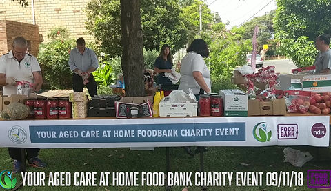 Your Aged Care at Home | Food Bank Event