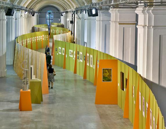Авторская выставка В. Ермилова в музейном комплексе«Мистецький арсенал»