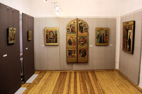 Иконы XVII века в Звенигородском музее