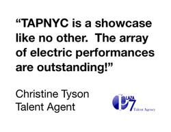 Plaza 7 Talent Agency review of TAPNYC