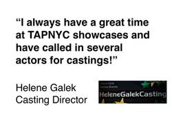 Helene Galek Casting