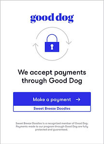 Good Dog Payment Logo