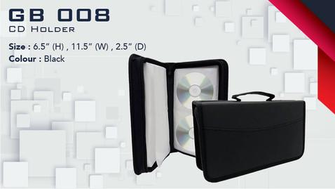 GB 008 - CD Holder