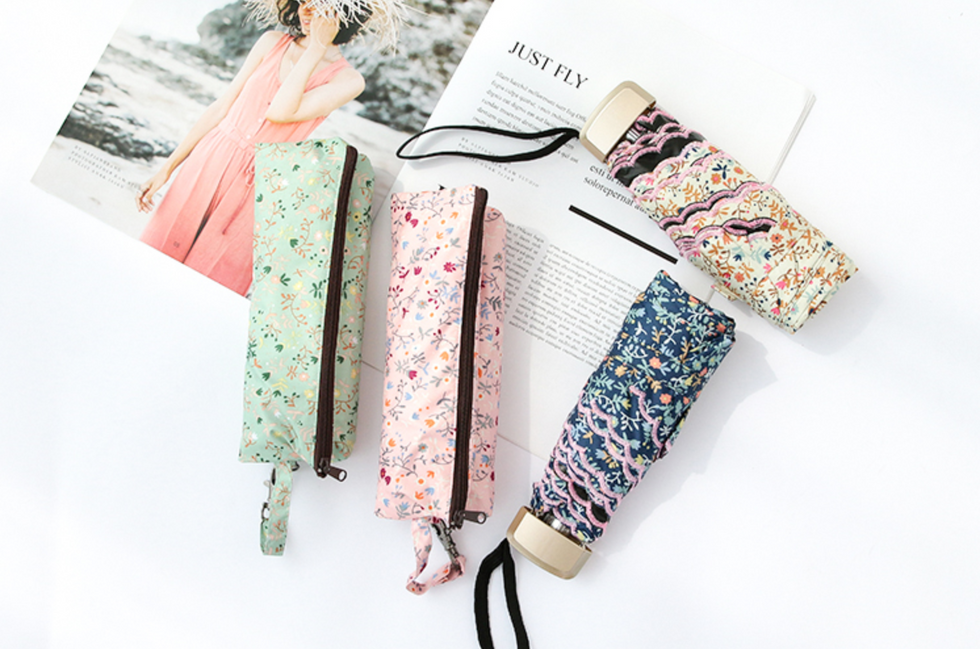 With pouch packaging