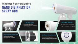 Nano Disinfection Spray Gun
