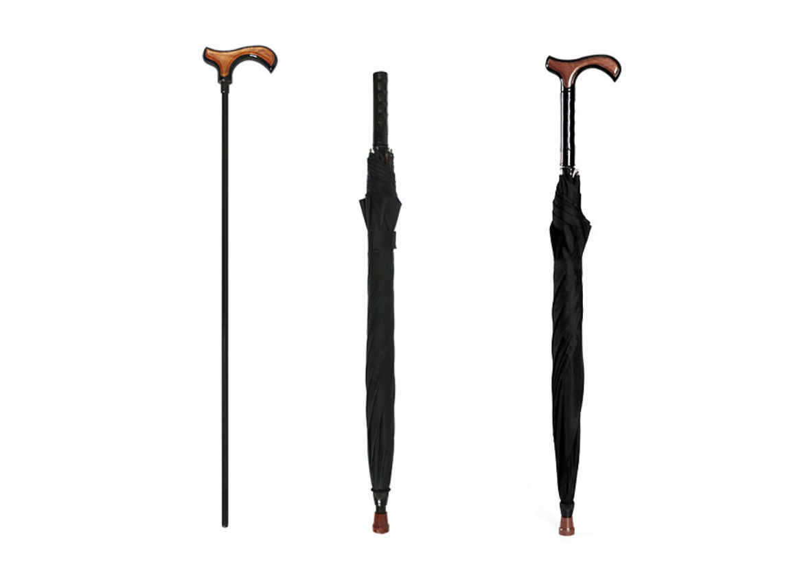 Removable cane design