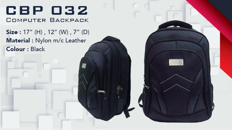 CBP 032 - Laptop Backpack