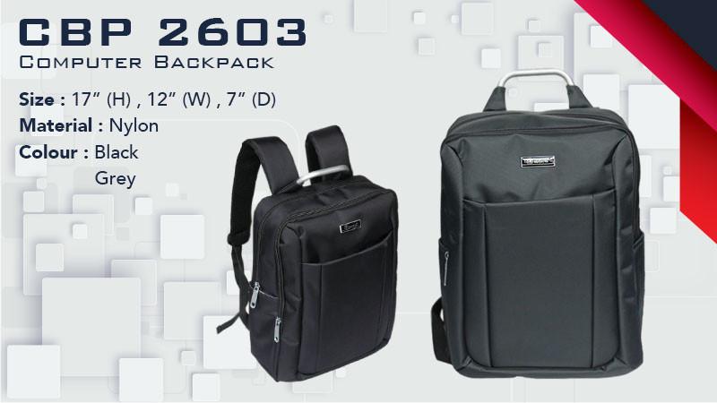 CBP 2603 - Laptop Backpack