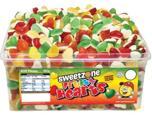 Sweetzone Fruity Hearts Tub