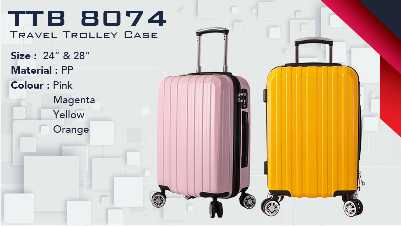 TTB 8074 - Travel Trolley Case