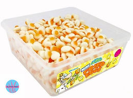 Crazy Candy Factory Mini Fried Eggs Tub