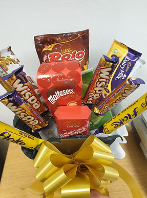 Chocolate bouquet box
