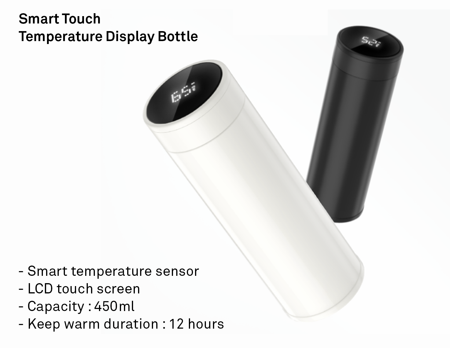 Tumbler w/ LED Temperature Display