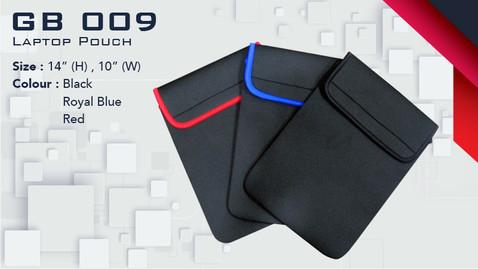 GB 009 - Laptop Pouch