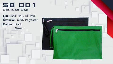 SB 001 - Seminar Bag