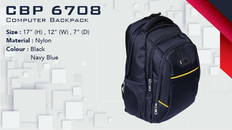 CBP 6708 - Laptop Backpack