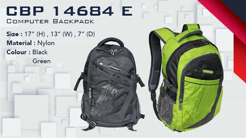 CBP 14684 E - Laptop Backpack