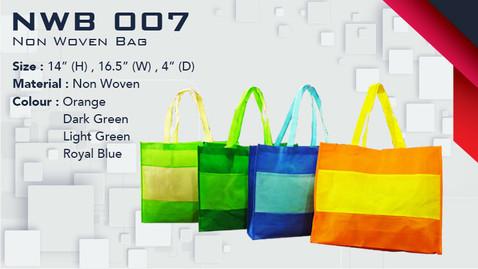 NWB 007 - Non Woven Bag