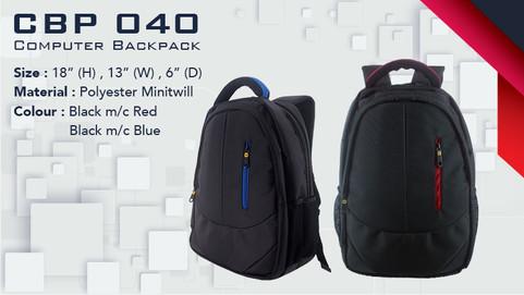 CBP 040 - Laptop Backpack