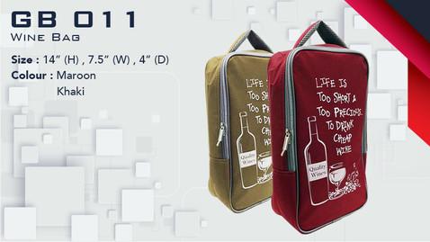 GB 011 - Wine Bag