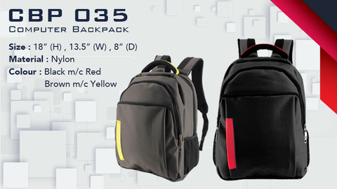 CBP 035 - Laptop Backpack