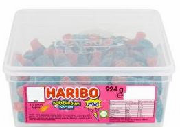Haribo Bubblegum Bottles Z!Ng Tub