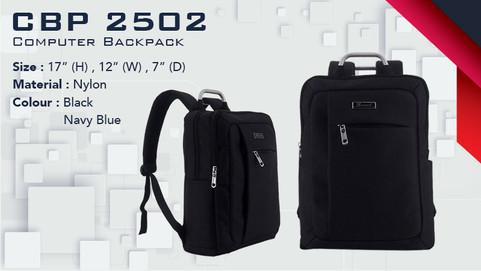 CBP 2502 - Laptop Backpack