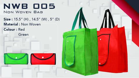NWB 005 - Foldable Non Woven Bag