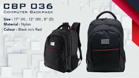 CBP 036 - Laptop Backpack