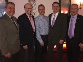 Manlius GOP Candidates Turn Out to Help  Chamber Pay It Forward