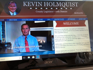 Kevin Holmquist's new website is up and running!  KevinHolmquist.com