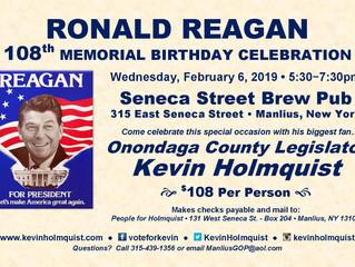 Help us Celebrate Ronald Reagan's Birthday with County Legislator Holmquist