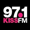 97.1 Kiss FM Logo Final Versions 5-05.pn